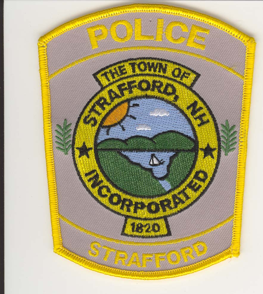Strafford PD Patch